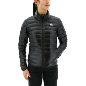 ADIDAS | Black Puffer Funnel Neck Jacket Small